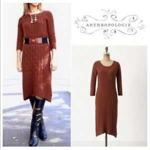 Anthropologie Sparrow Heavens Sweater Dress Size M